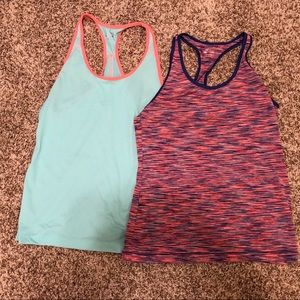 Tops - Racerback workout tops bundle - size medium